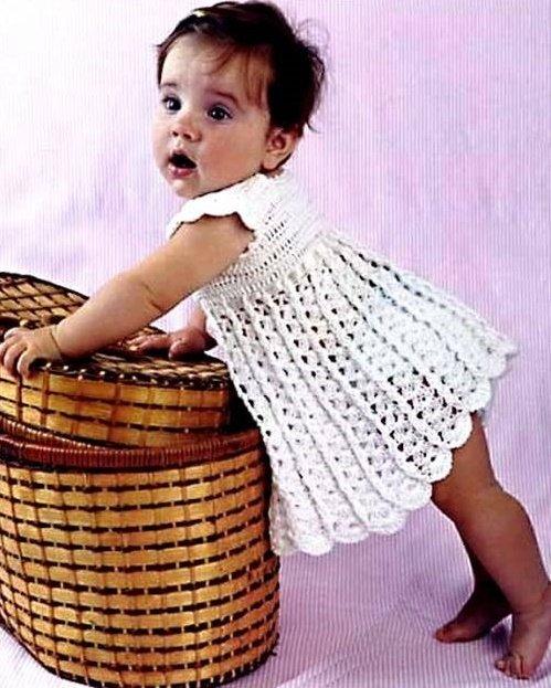 Очаровательный сарафан для девочки 1 год
