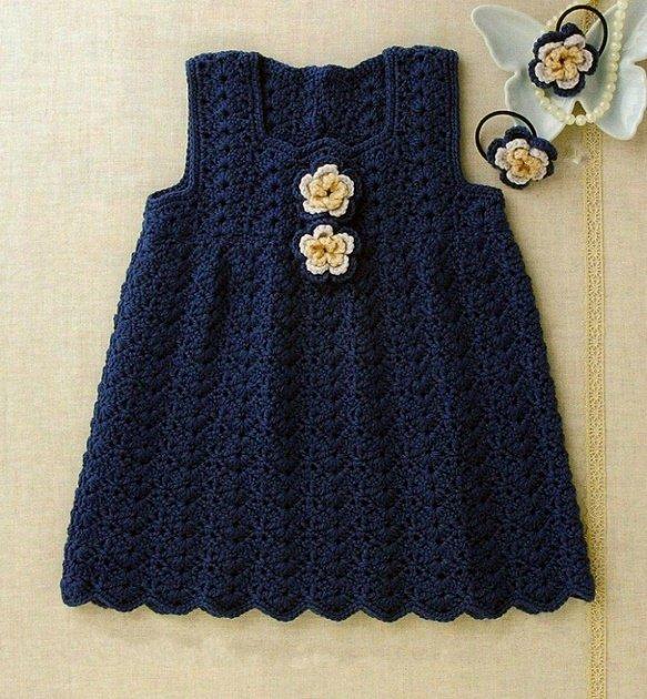 Платье синее на девочку 1 год