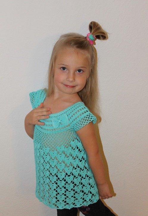 Туника для девочки 5 лет