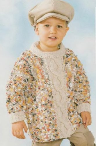 Пуловер мальчику 2 года