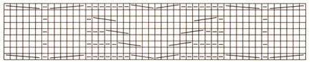 Схема вязания узора из кос