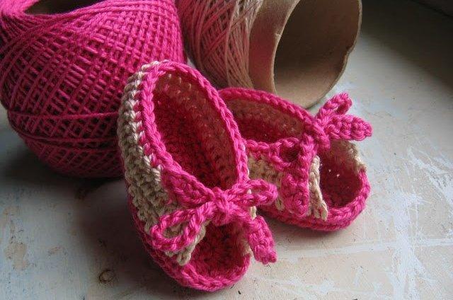 Летние сандалии для девочки крючком