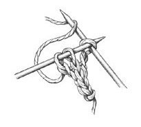 Схема вязания шнурков