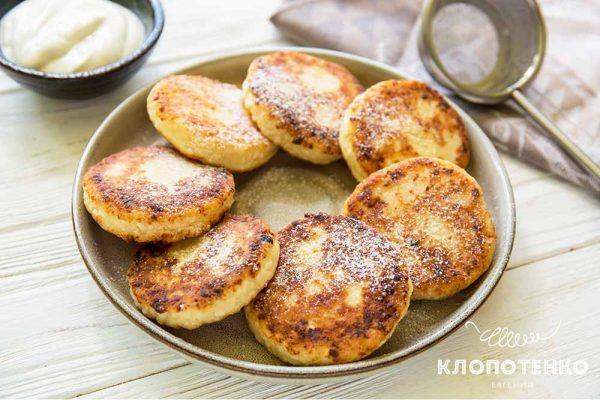 Рецепт сырников от Евгения Клопотенко