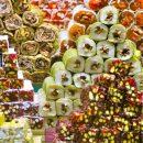 Рынок восточных сладостей: разнообразие вкусов