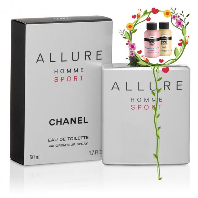 Самый популярный мужской аромат - Chanel Allure Homme Sport