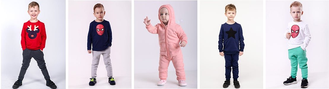 Широкий ассортимент детской одежды оптом и в розницу