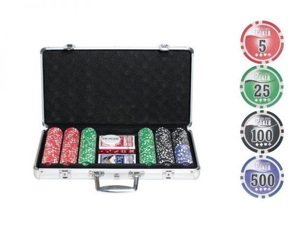 Учимся играть в покер с набором от msgame.ru