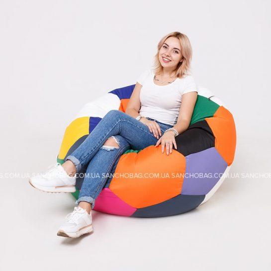 Бескаркасное кресло-мяч для детей и взрослых