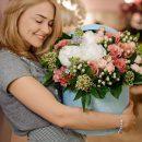 Доставка цветов в любое время