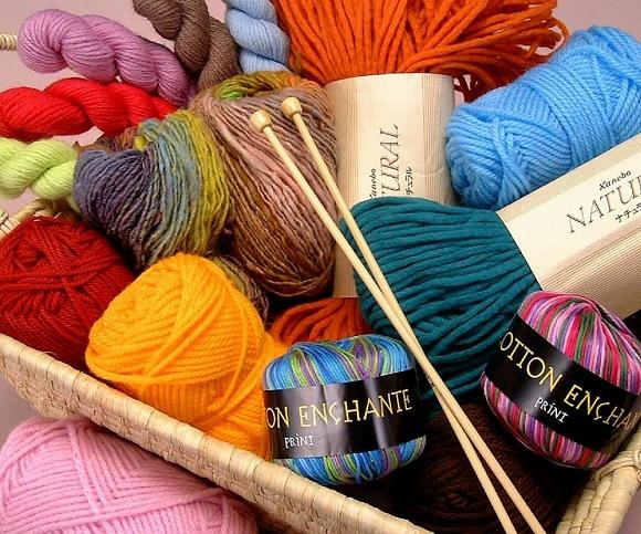 Где купить нитки для вязания