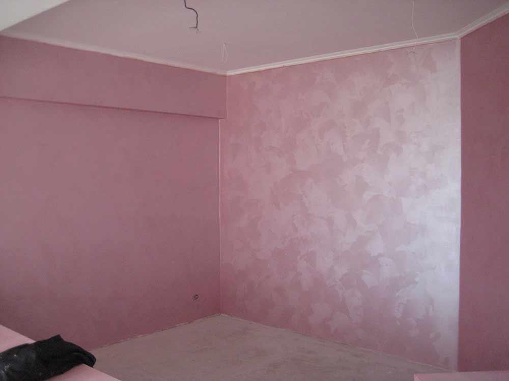Краска для стен с эффектом шелка