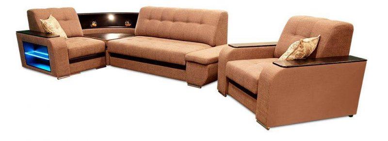 Лучшие угловые диваны с креслом
