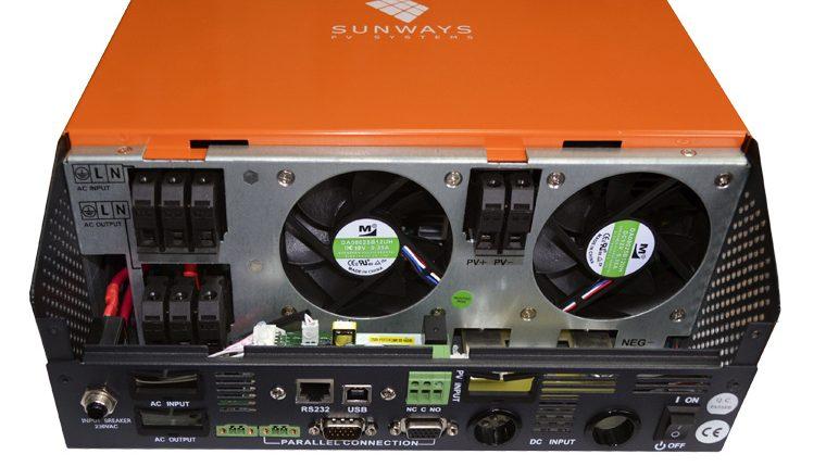 Инвертор UMX-NG со встроенным контроллером заряда MPPT