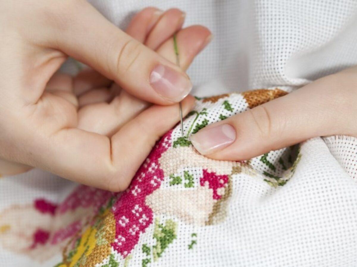 Вышивка - изящный рисунок иголкой и ниткой